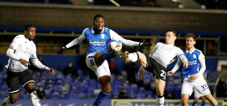 Swansea: Connor Roberts was awful in Birmingham defeat