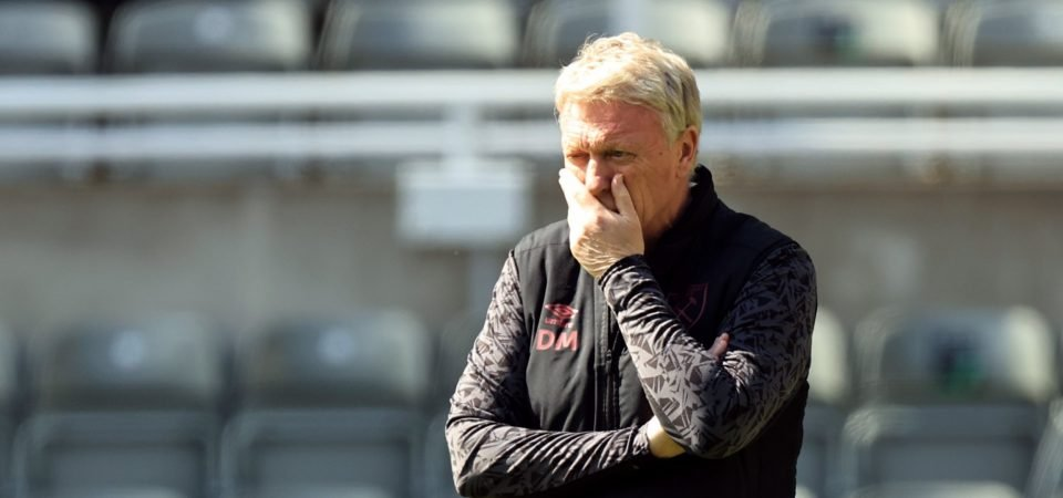 West Ham: Moyes rocked by double Chelsea injury blow for Cresswell and Masuaku