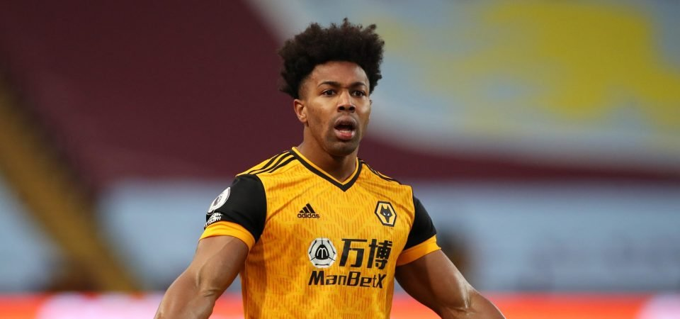 Wolves: Adama Traore returning to form