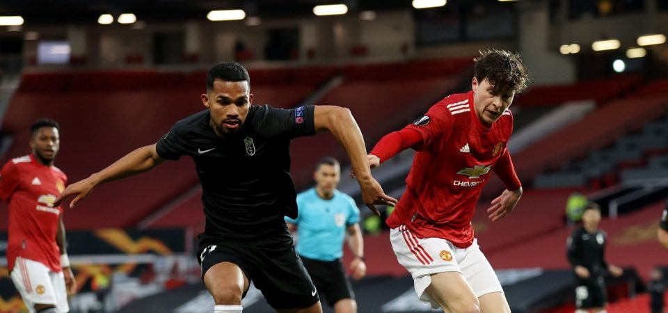 Leeds transfer target Yangel Herrera dominated Man Utd in the Europa League