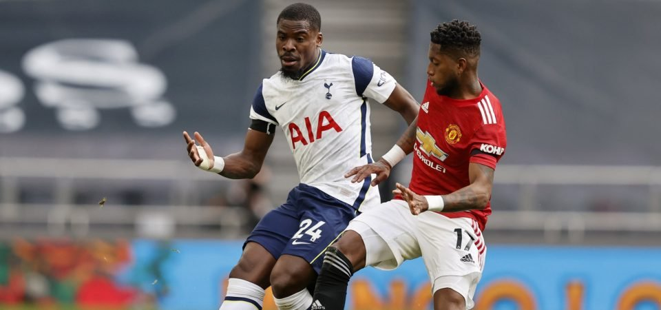 Serge Aurier set to stay at Spurs amid deadline day twist