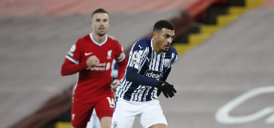 Karlan Grant in danger of becoming West Brom's next big-money flop