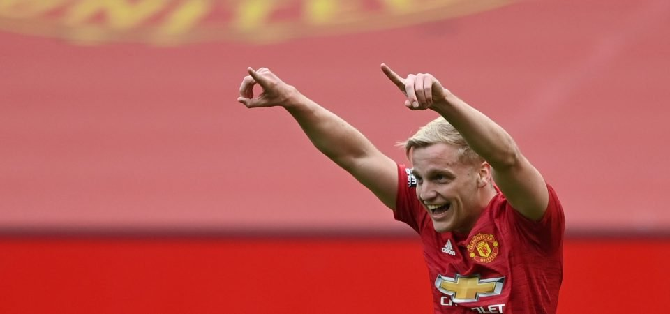 Manchester United must keep hold of Donny van de Beek this summer