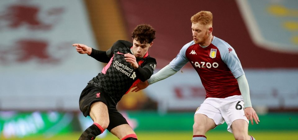 Aston Villa's Brad Young delivered an FA Youth Cup masterclass vs Liverpool