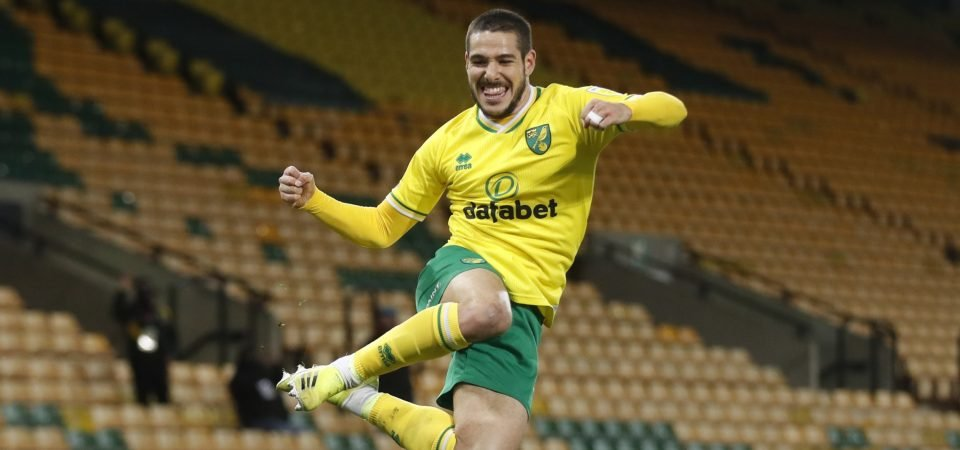 Norwich City star Emi Buendia could have his head turned this summer