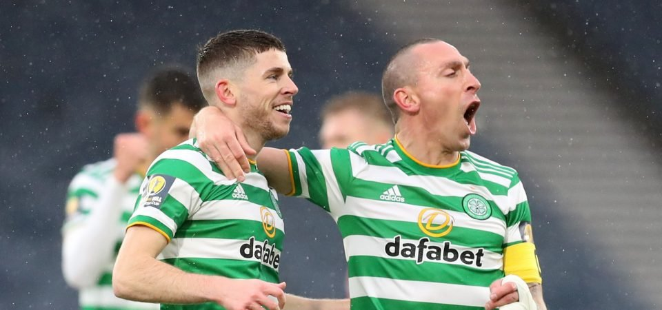 Celtic: Ryan Christie shows signs of improvement