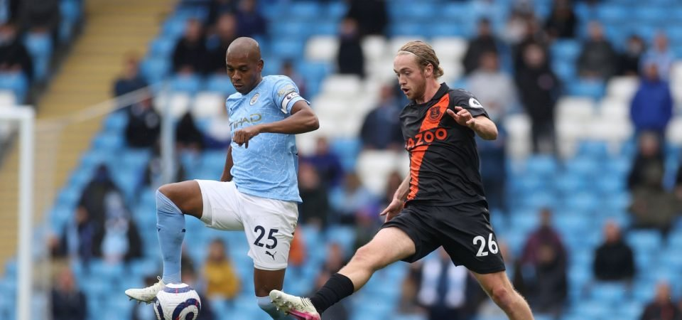 Everton: Tom Davies disappoints in Manchester City drubbing