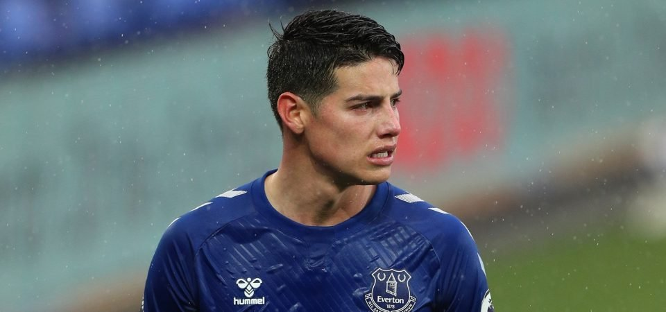 Everton must unleash Whitaker after Rodriguez leaves