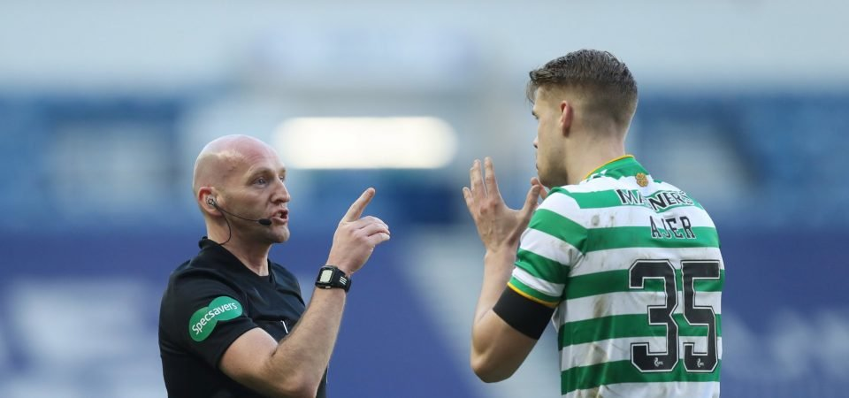 Celtic's Kristoffer Ajer ends the season in style
