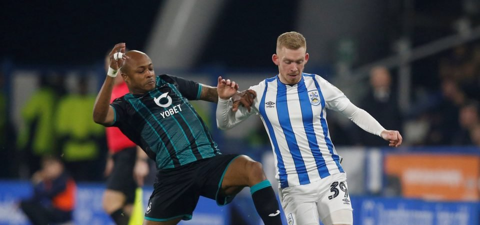 Leeds United transfer target Lewis O'Brien set for Huddersfield Town contract talks