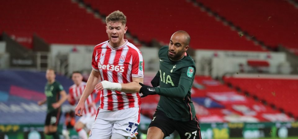 Stoke City handed Nathan Collins transfer boost