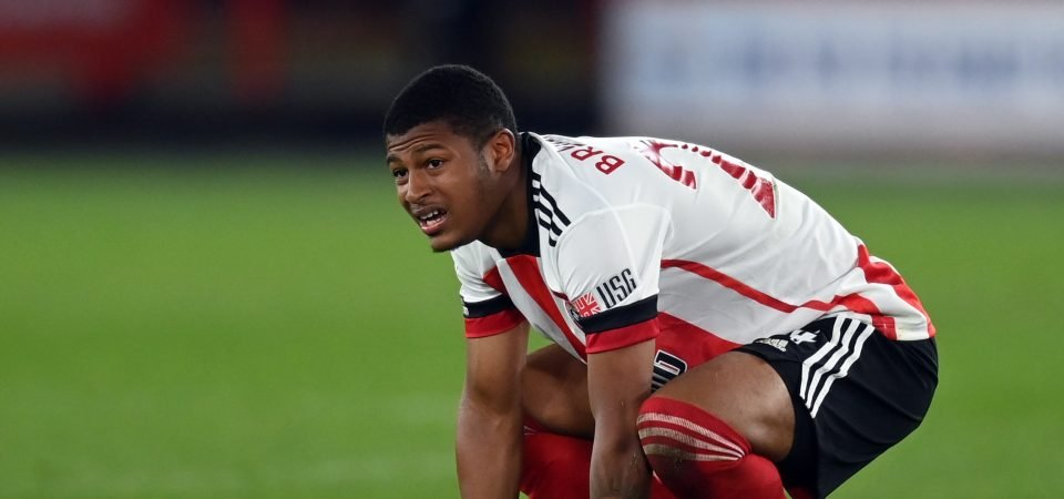 Sheffield United: Brewster was awful again in Spurs defeat