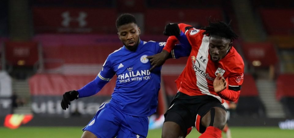 Southampton: Mohammed Salisu starred in draw against Leicester