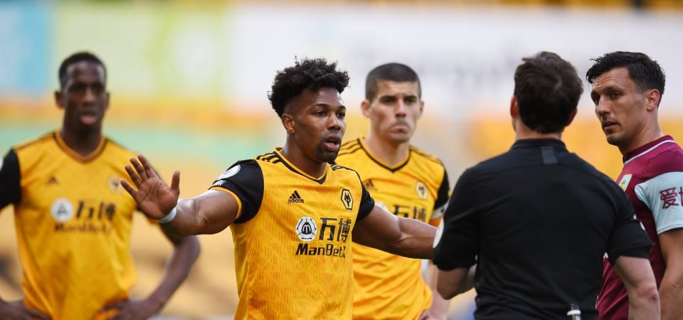 """Wolves journalist describes Adama Traore's contract situation as an """"iffy one"""""""