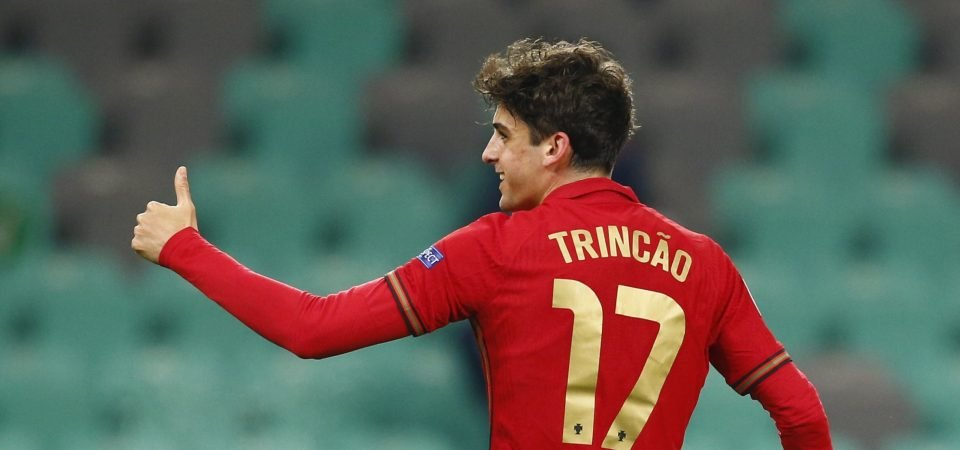Wolves: Trincao and Lage would be a dream combination