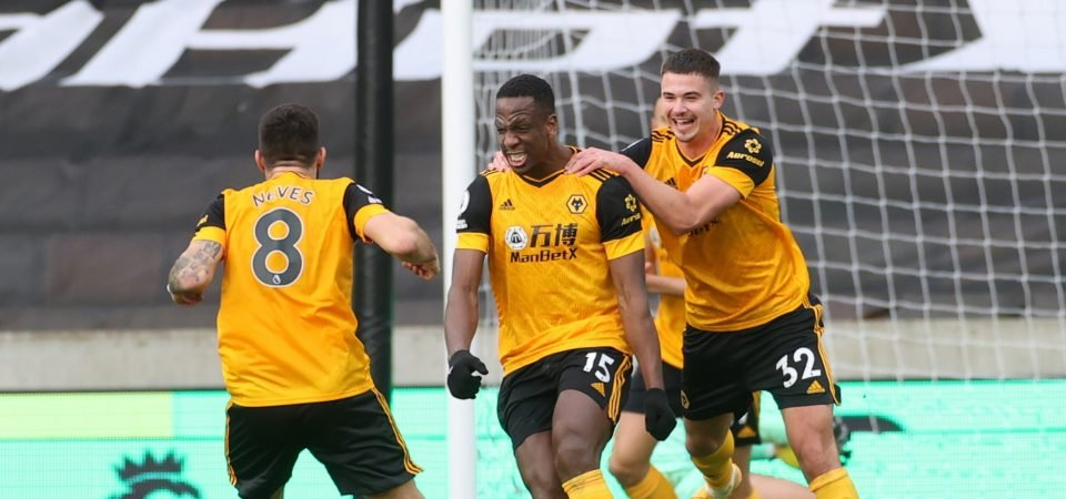 Wolves: Willy Boly's value has risen considerably