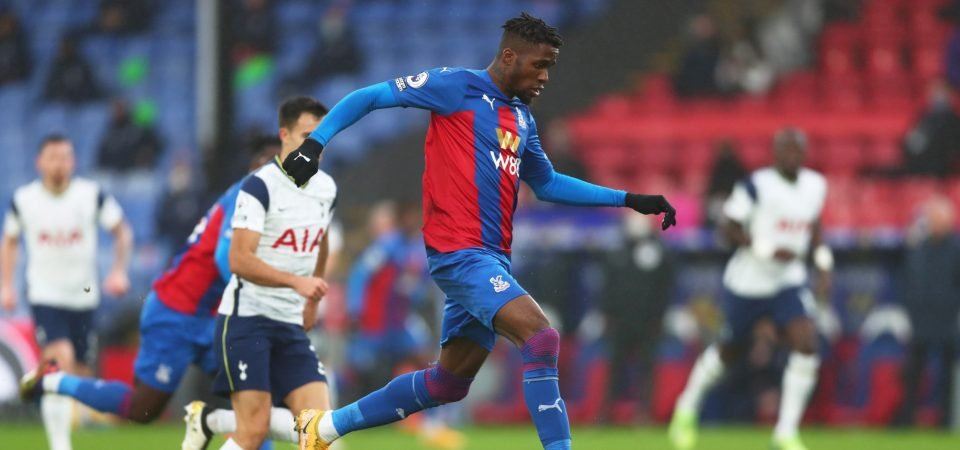 Spurs: Wilfried Zaha could be a perfect replacement for Gareth Bale