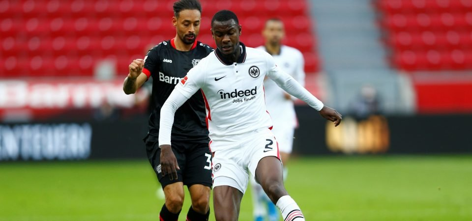 Arsenal could sign their new Sol Campbell in Eintracht Frankfurt's Evan N'Dicka