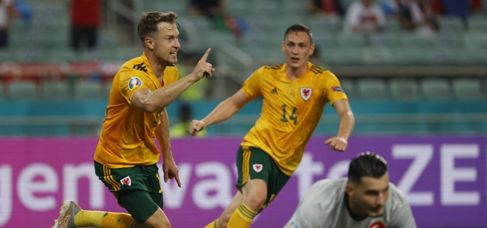 Aston Villa: Dean Smith could land superb deal with Wales star Aaron Ramsey