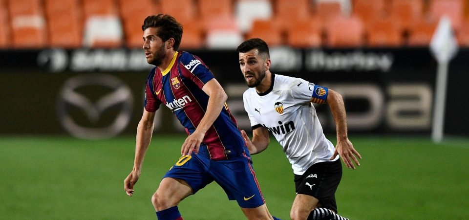 Manchester City: Guardiola's side linked with Sergi Roberto