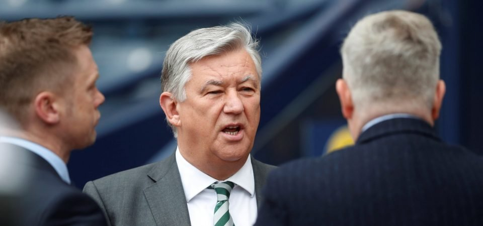 Peter Lawwell has already left Celtic according to reports