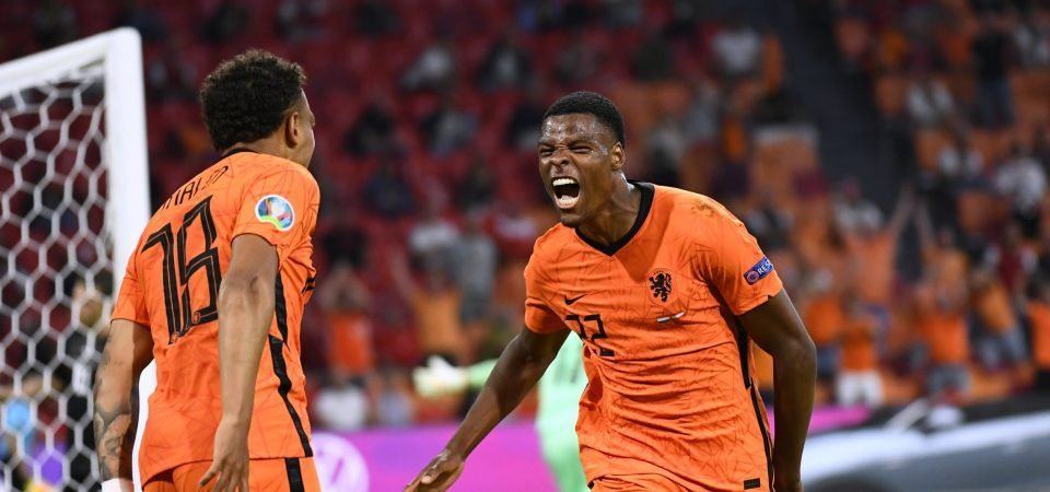 Exclusive: Ball thinks Everton and PSV spoke before the Euros about Denzel Dumfries