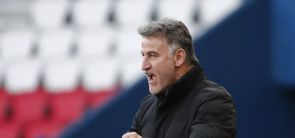 Everton in contact with Christophe Galtier's agent