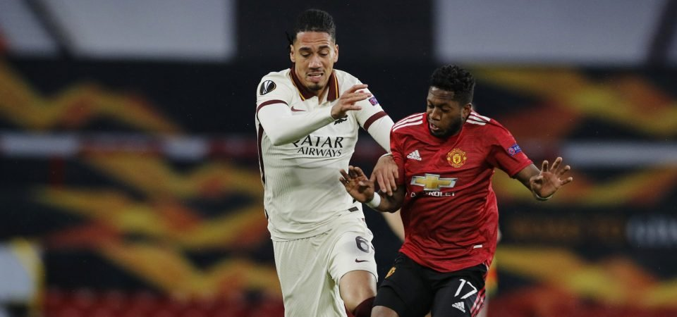 Everton handed boost in Chris Smalling pursuit