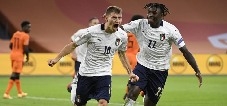 Imagine him & Ten Hag: Spurs could form dream duo by signing Nicolo Barella