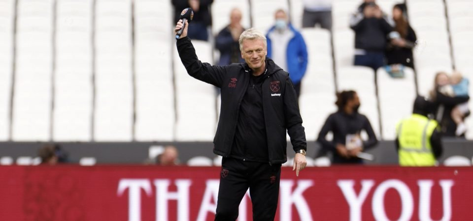 West Ham: David Moyes makes major behind-the-scenes appointment
