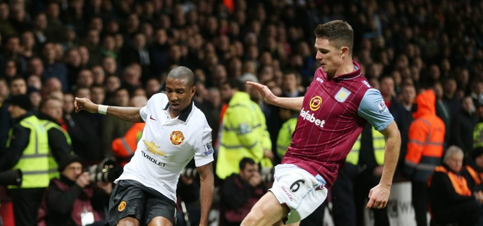 Journalist says Ashley Young's set-pieces convinced Aston Villa to re-sign him