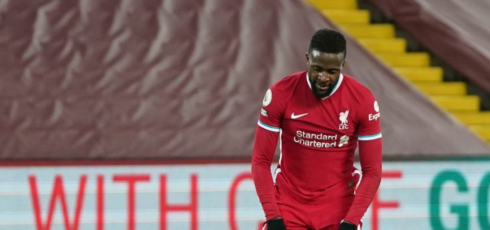 Liverpool missed out on further signings due to lack of player sales