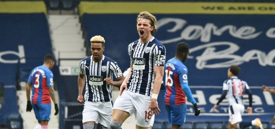 Crystal Palace are lining up a loan move for Conor Gallagher