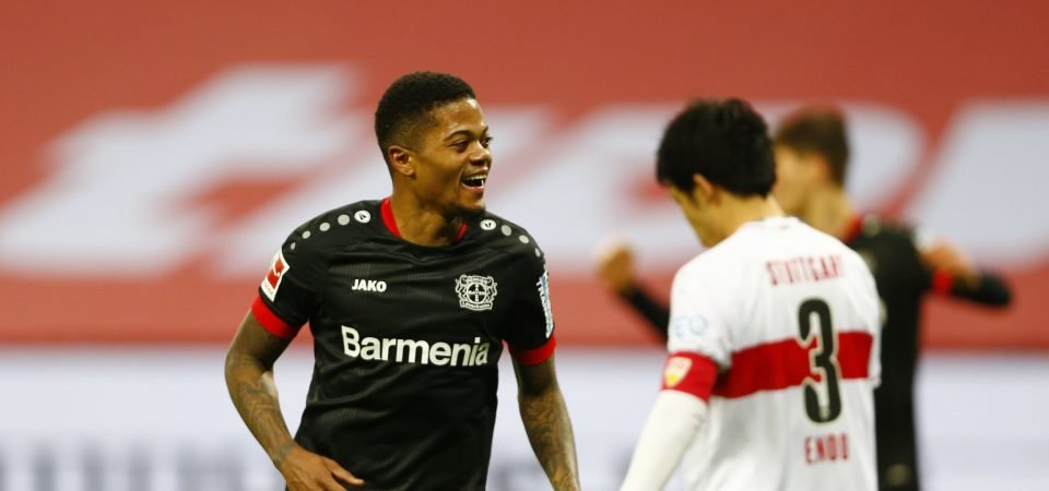 Everton must swoop for Leon Bailey this summer