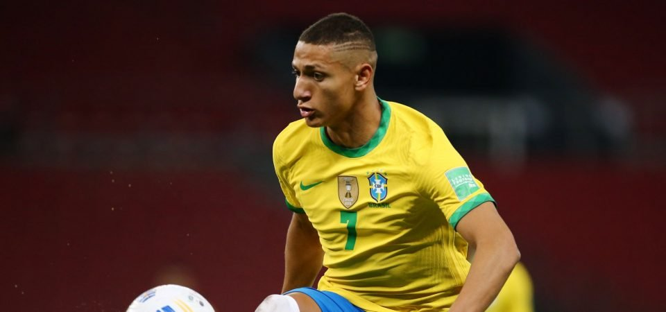 Everton could lose Richarlison this summer