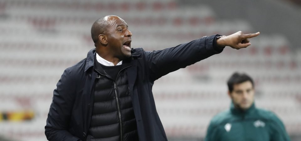 Journalist backs Crystal Palace to become more attacking under Patrick Vieira