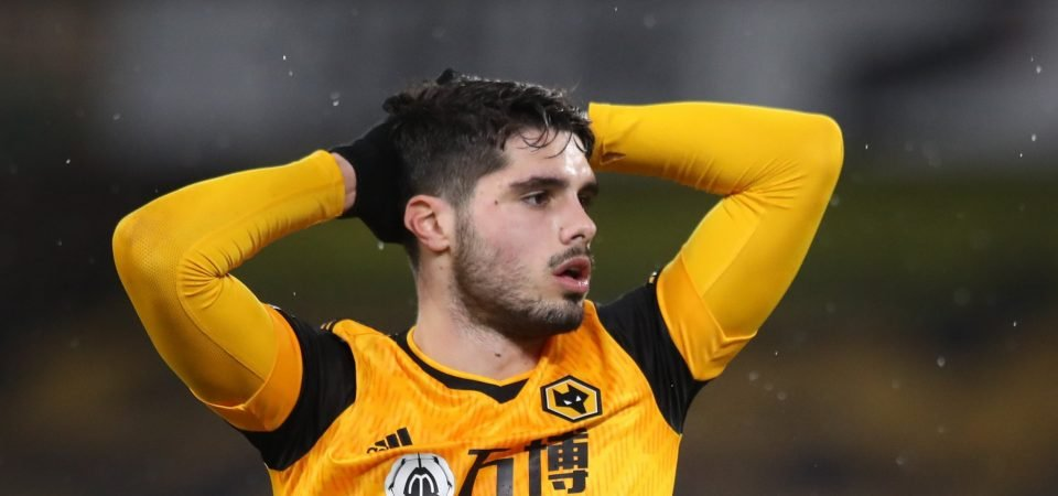 Wolves tempted to sell Pedro Neto