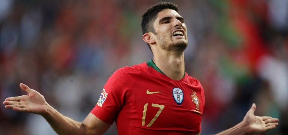Spurs: Goncalo Guedes could be an ideal Gareth Bale replacement