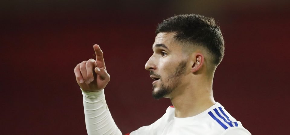 Liverpool have received a boost in Houssem Aouar pursuit