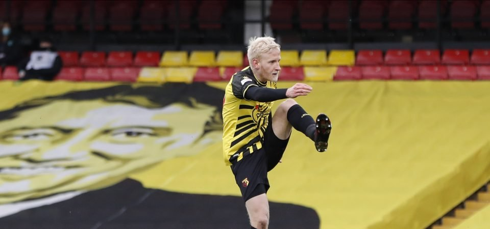 Crystal Palace set to agree deal for Will Hughes