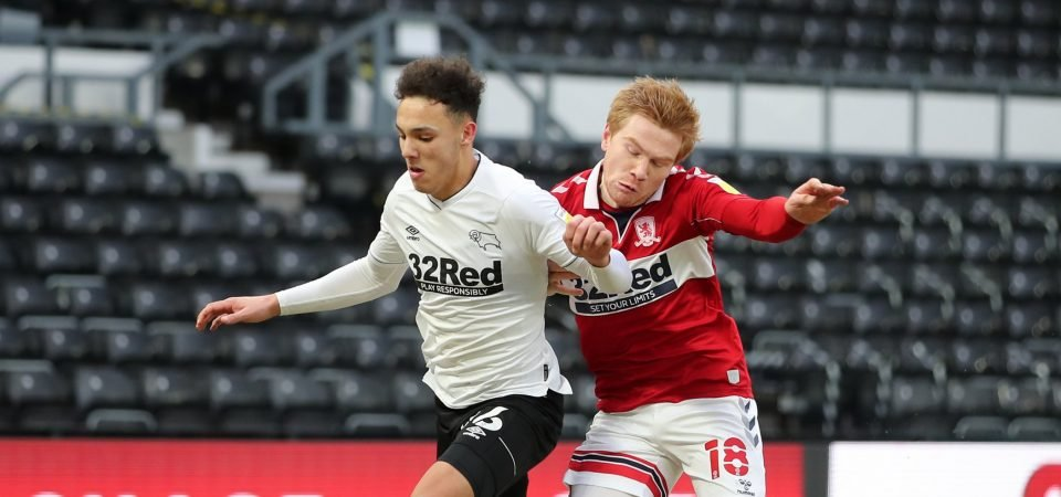 Derby County: Lee Buchanan won't be risked v Peterborough