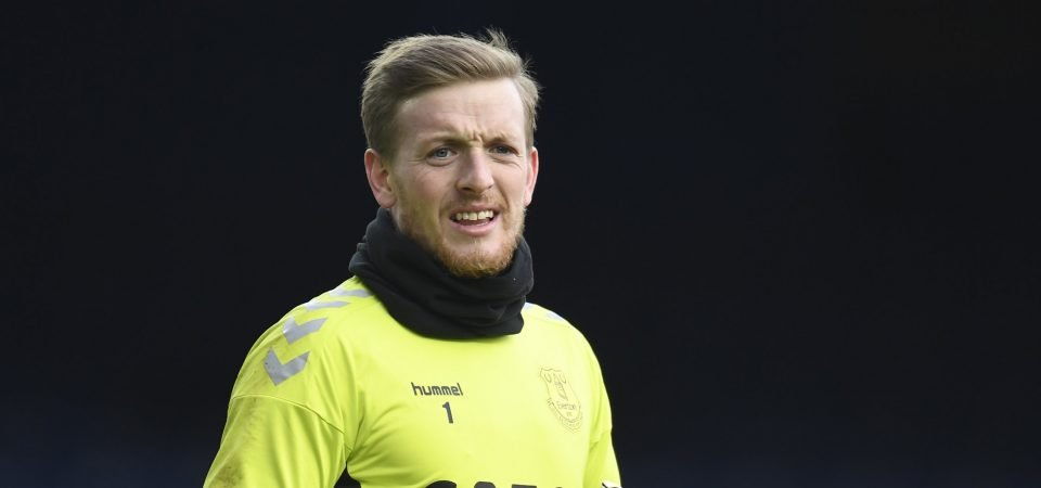 Exclusive: Pundit gives Arsenal response when asked if Pickford could leave Everton