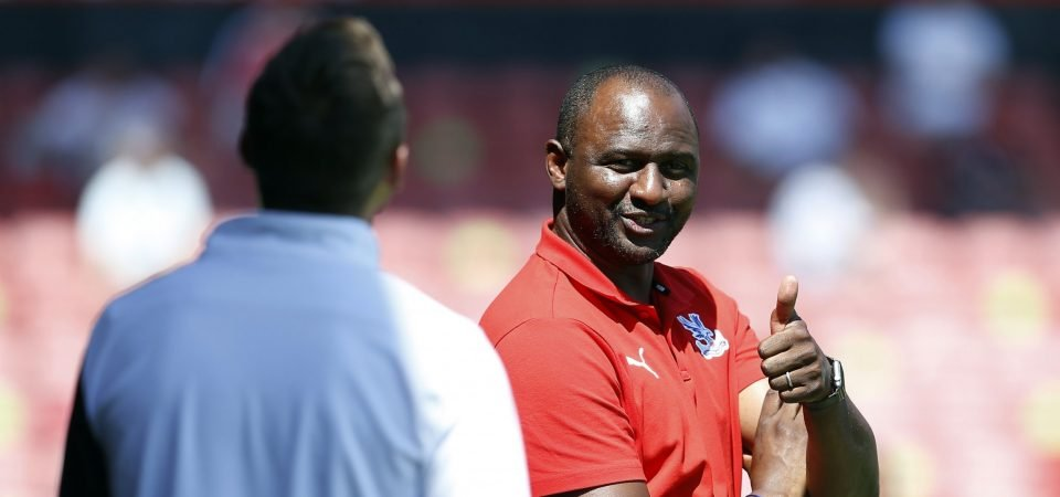 Exclusive: Pundit thinks Vieira arrival could be a game changer for Crystal Palace