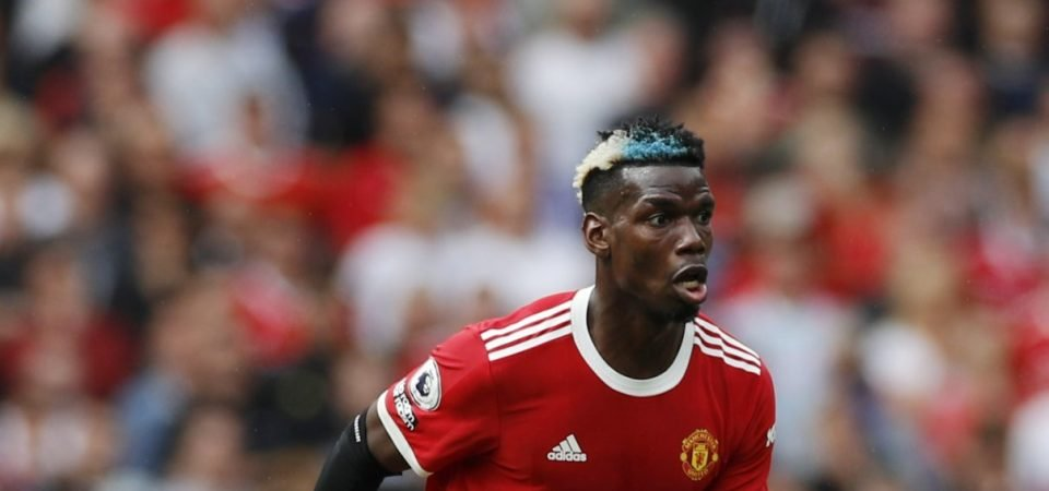Paul Pogba is leaning towards signing a new contract at Manchester United