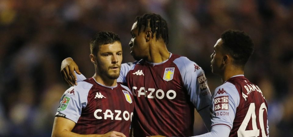 Gabby Agbonlahor claims Frederic Guilbert will never play for Aston Villa again