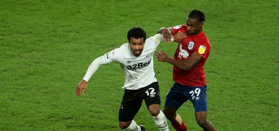 Nathan Byrne has a shocker as Derby County slip up