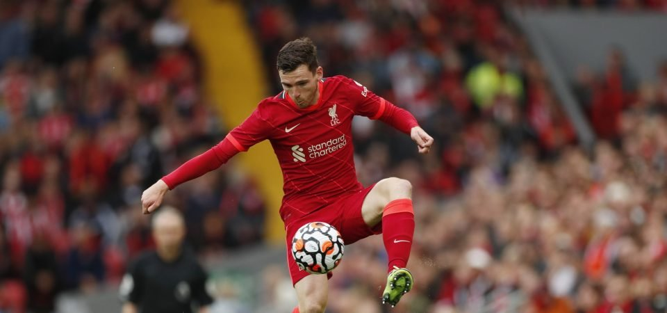 Liverpool struck gold with Andy Robertson purchase