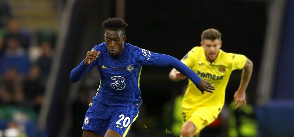 Liverpool are weighing up a move for Callum Hudson-Odoi