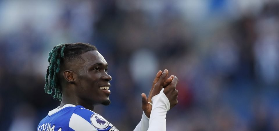 Liverpool are eyeing up a move for Yves Bissouma