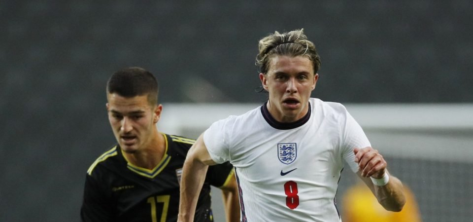 Crystal Palace: Conor Gallagher shone for England U21s